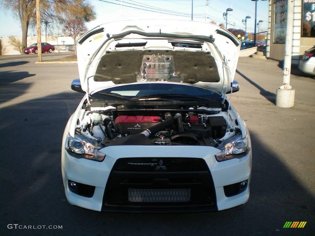 2010 Wicked White Mitsubishi Lancer Evolution GSR #21560699 Photo ...