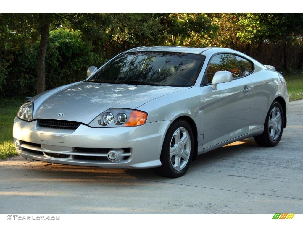 2003 super silver hyundai tiburon gt v6 21568069. Black Bedroom Furniture Sets. Home Design Ideas