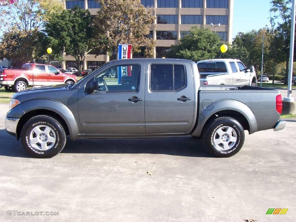 2008 Storm Grey Nissan Frontier Se Crew Cab 21572985 Photo 2 Car Color Galleries