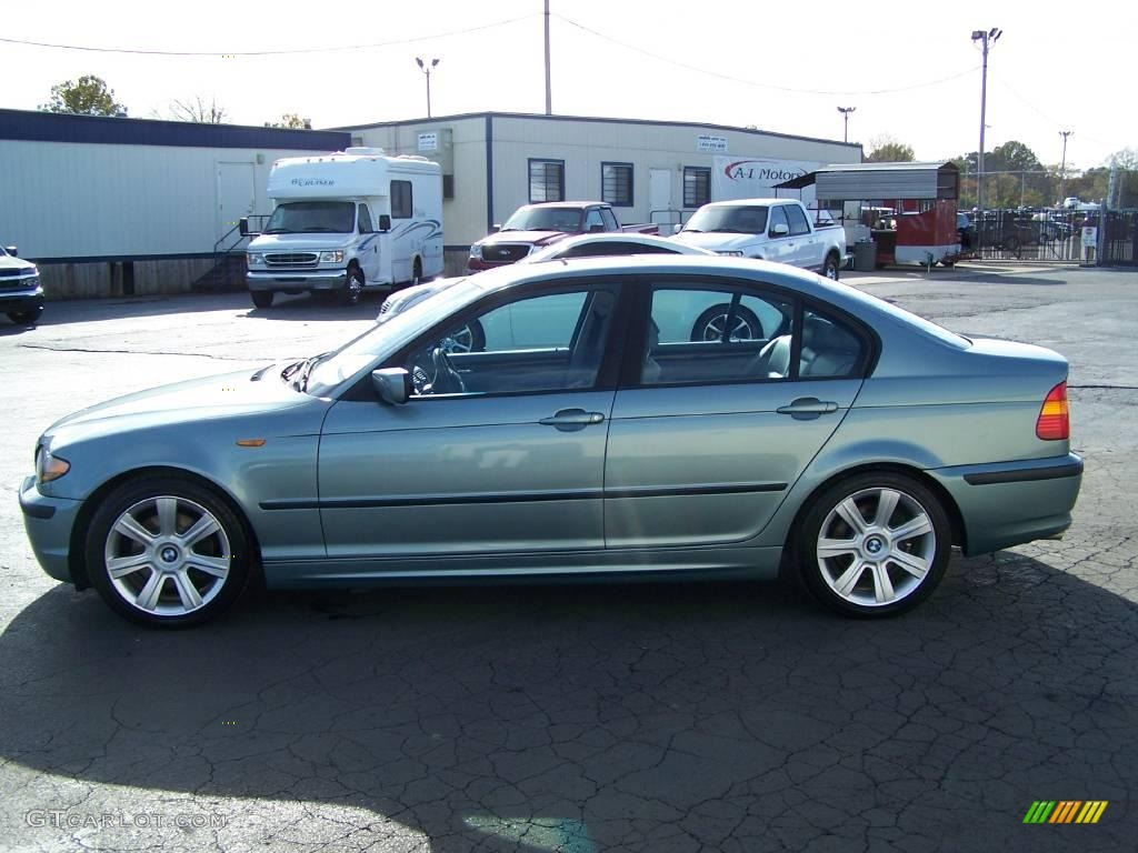2003 Grey Green Metallic Bmw 3 Series 325i Sedan 21571347