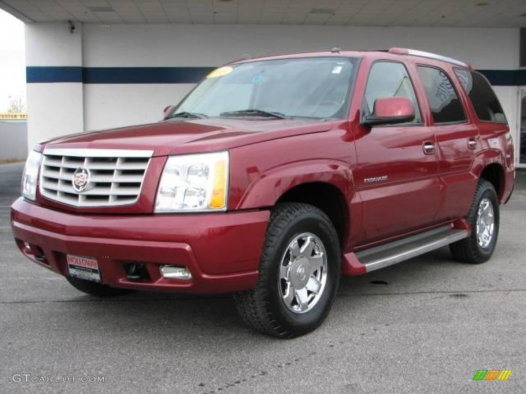 Red e cadillac escalade cadillac escalade awd