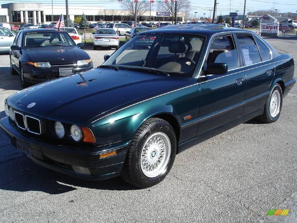 1995 boston green metallic bmw 5 series 540i sedan 21630504 photo 3 car color. Black Bedroom Furniture Sets. Home Design Ideas
