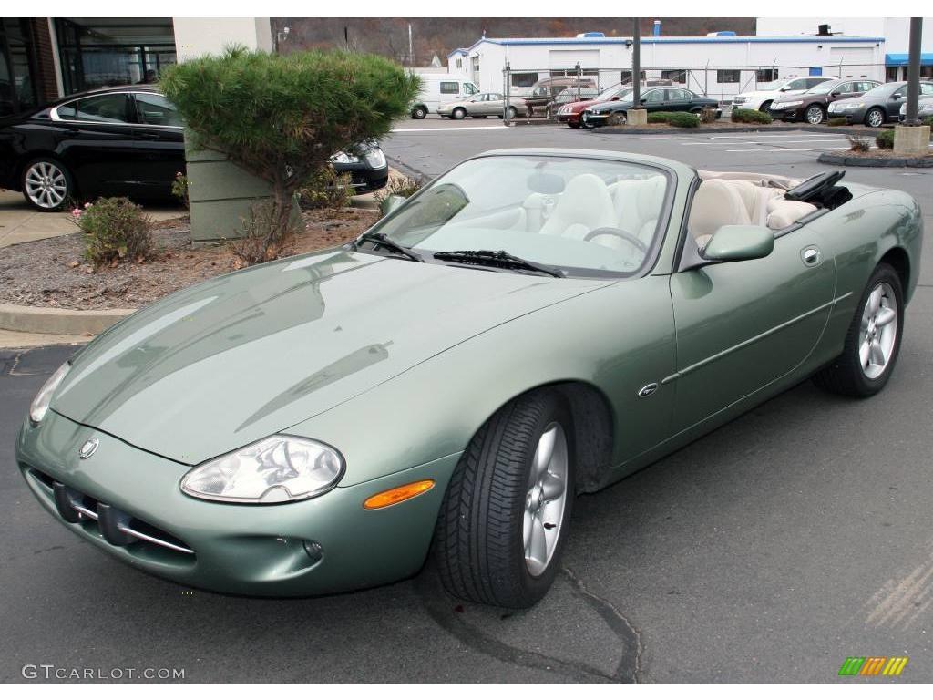 1999 alpine green jaguar xk xk8 convertible 21614539 car color galleries. Black Bedroom Furniture Sets. Home Design Ideas