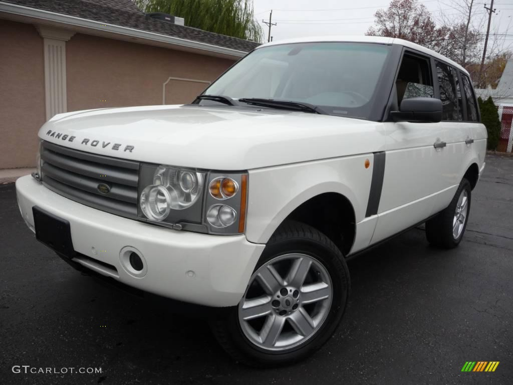 2005 chawton white land rover range rover hse 21625875 photo 2 car color. Black Bedroom Furniture Sets. Home Design Ideas