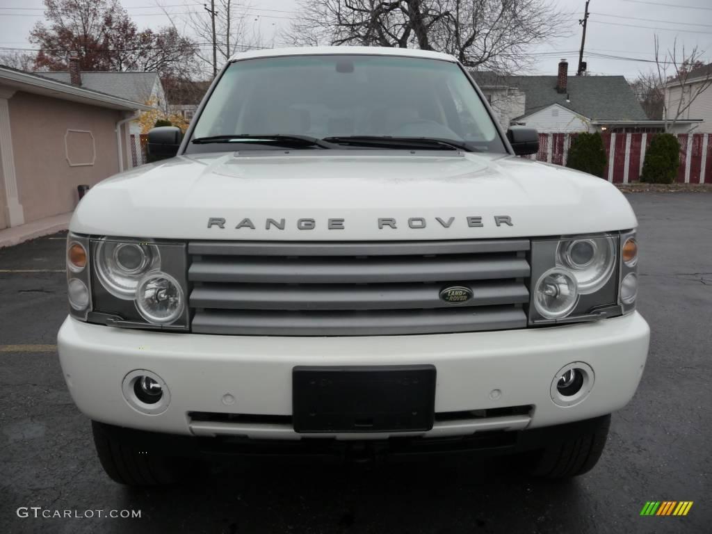 2005 Chawton White Land Rover Range Rover HSE 21625875 Photo 11