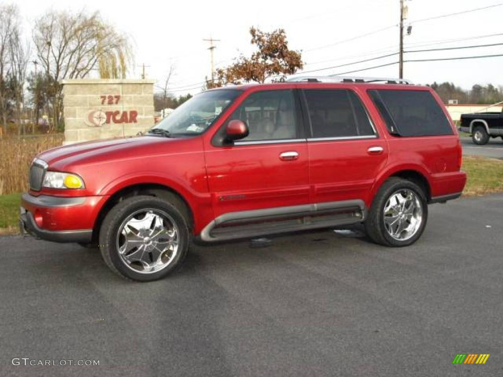 1999 Laser Red Lincoln Navigator 4x4 21629277 Car Color Galleries