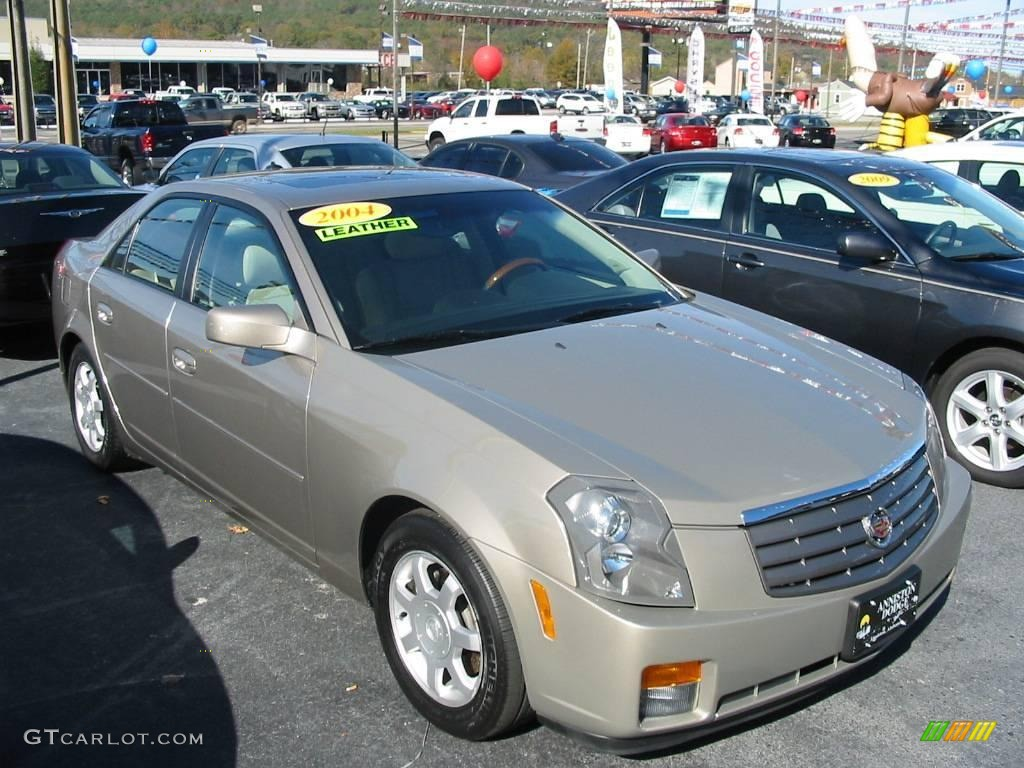 2004 CTS Sedan - Cashmere / Light Neutral photo #1