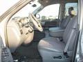 2008 Bright Silver Metallic Dodge Ram 1500 Big Horn Edition Quad Cab  photo #9