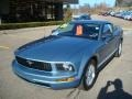 2006 Windveil Blue Metallic Ford Mustang V6 Deluxe Coupe  photo #11