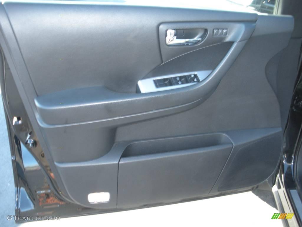 2006 Murano SL AWD - Super Black / Charcoal photo #12