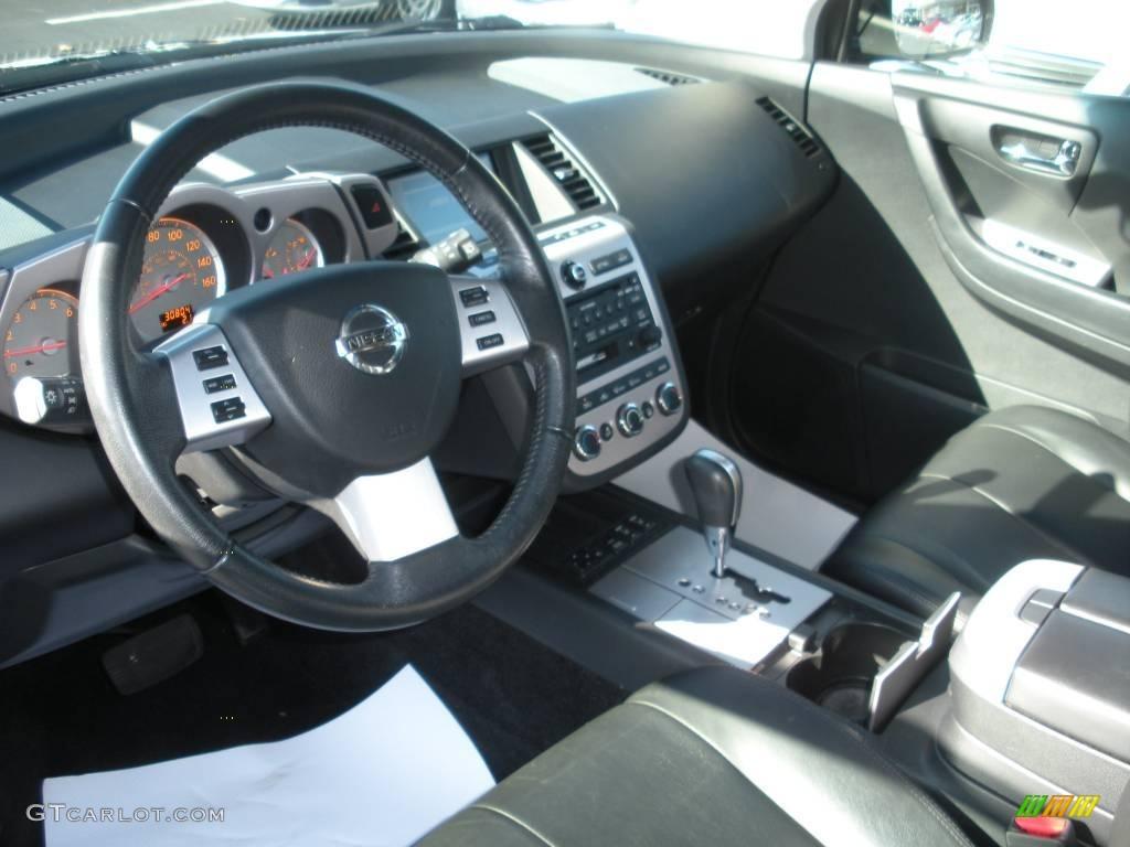 2006 Murano SL AWD - Super Black / Charcoal photo #13