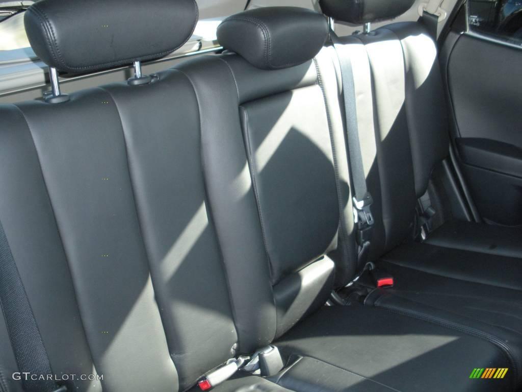 2006 Murano SL AWD - Super Black / Charcoal photo #21