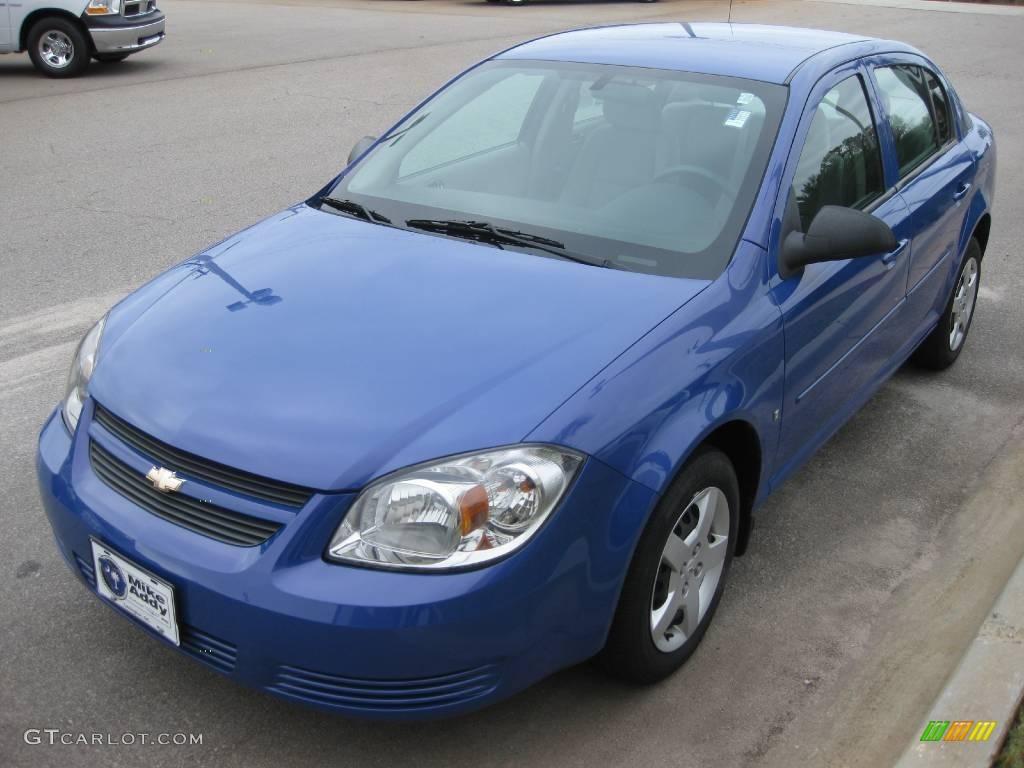 2008 blue flash metallic chevrolet cobalt ls sedan. Black Bedroom Furniture Sets. Home Design Ideas