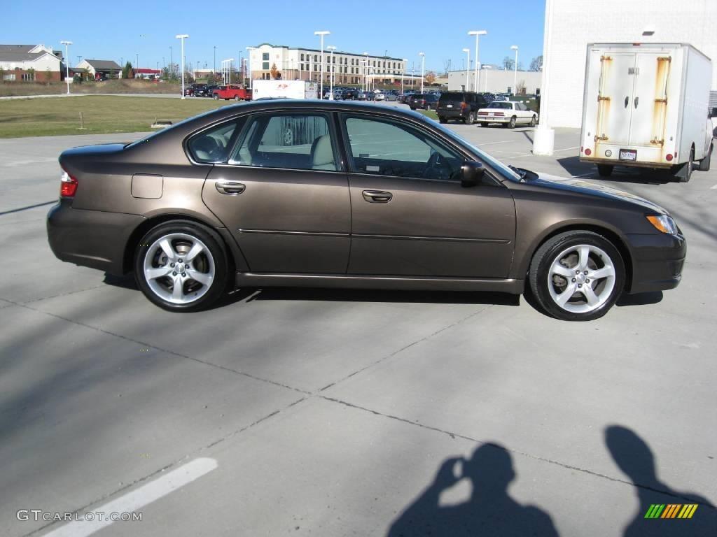 2009 deep bronze metallic subaru legacy 2.5i sedan #21711845