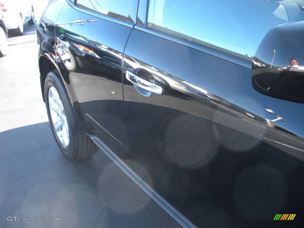 2007 Murano S AWD - Super Black / Charcoal photo #5
