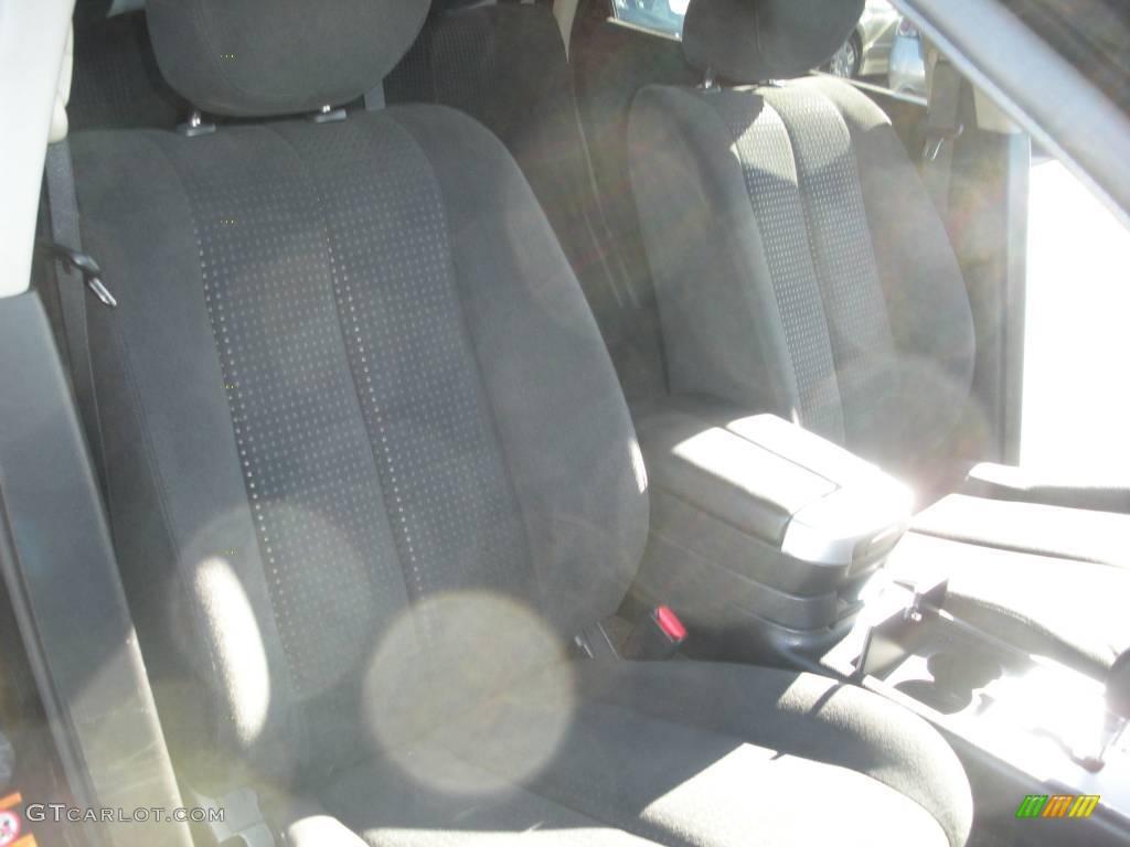 2007 Murano S AWD - Super Black / Charcoal photo #17