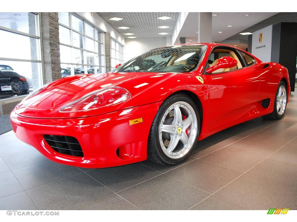 2002 Red Ferrari 360 Modena F1 21757206 Gtcarlot Com