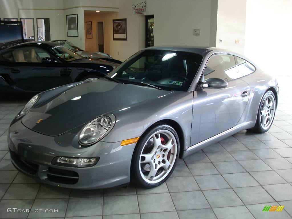 2005 seal grey metallic porsche 911 carrera s coupe 2169064 car color galleries. Black Bedroom Furniture Sets. Home Design Ideas