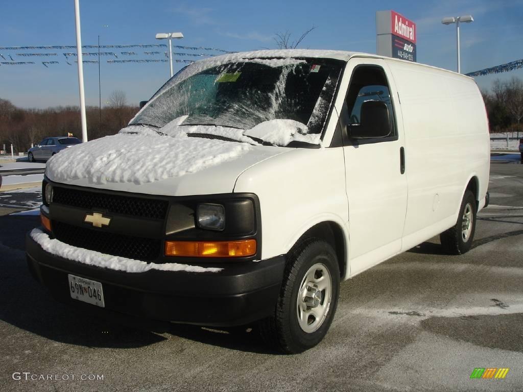 2006 summit white chevrolet express 1500 cargo van 2172669 car color galleries. Black Bedroom Furniture Sets. Home Design Ideas
