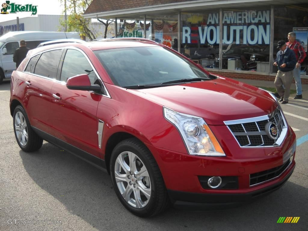 2010 Crystal Red Tintcoat Cadillac Srx 4 V6 Awd 21772437 Car Color Galleries