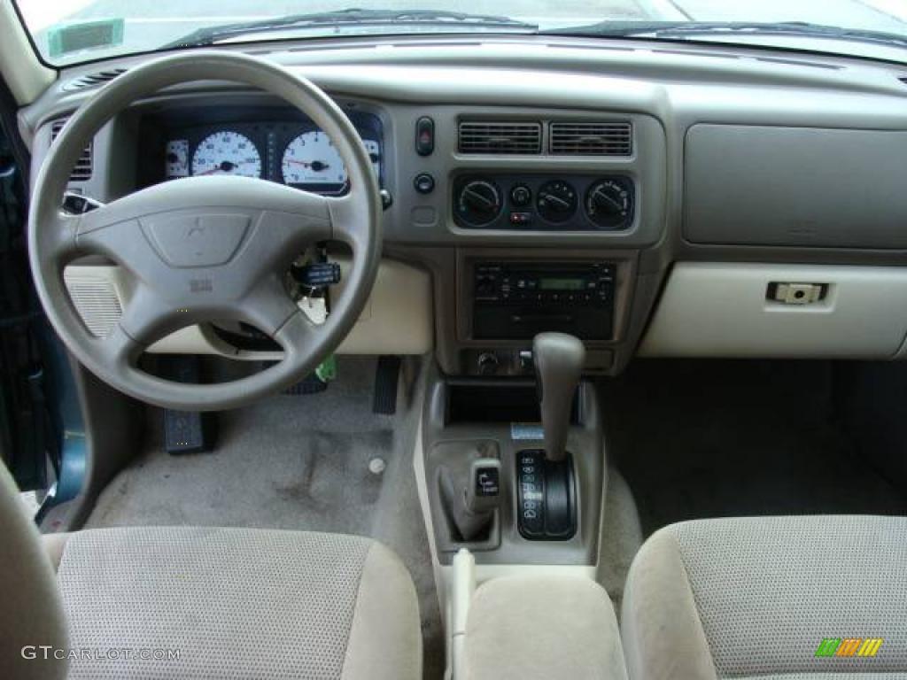 2003 Amazon Green Pearl Mitsubishi Montero Sport Ls 4x4