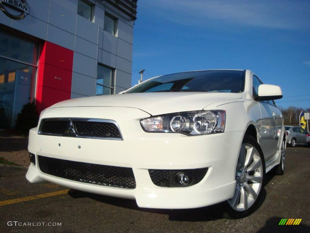 2008 wicked white mitsubishi lancer gts 21774412 photo 2. Black Bedroom Furniture Sets. Home Design Ideas