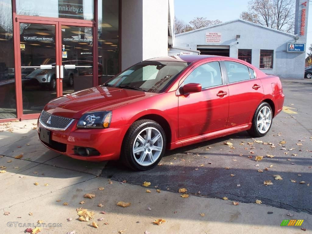 2010 Rave Red Pearl Mitsubishi Galant Sport Edition 21776008 Gtcarlot Com Car Color Galleries