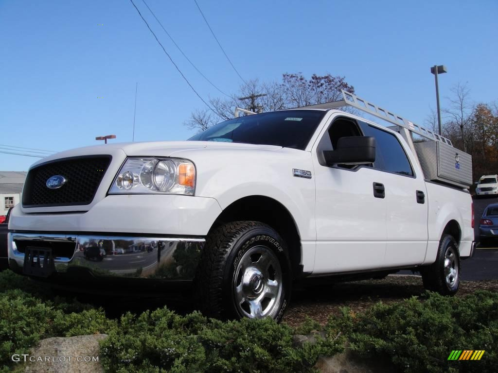 2006 oxford white ford f150 xlt supercrew 21763165. Black Bedroom Furniture Sets. Home Design Ideas