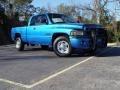 2001 Intense Blue Pearl Dodge Ram 2500 ST Quad Cab #2170786