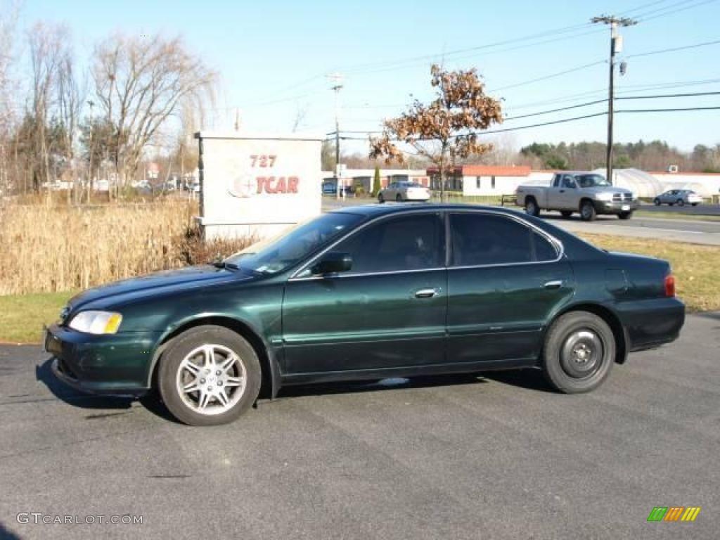 2000 Dark Emerald Pearl Acura Tl 3 2 21874843 Gtcarlot