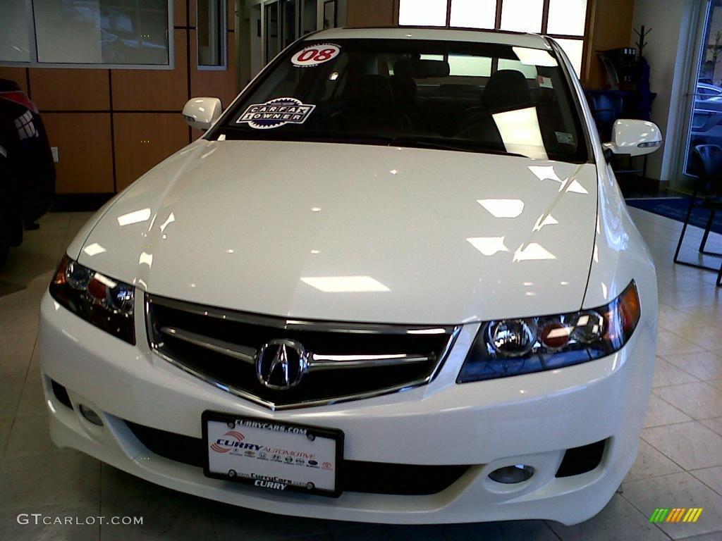 Premium White Pearl Acura TSX