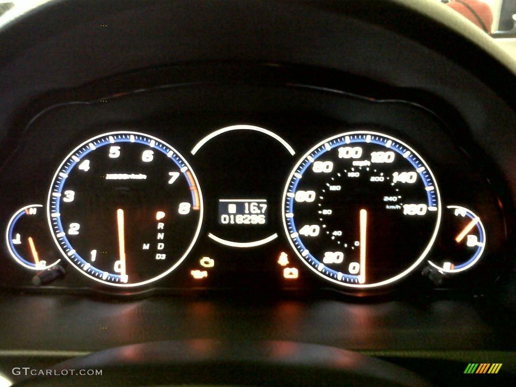 2008 TSX Sedan - Premium White Pearl / Ebony photo #14