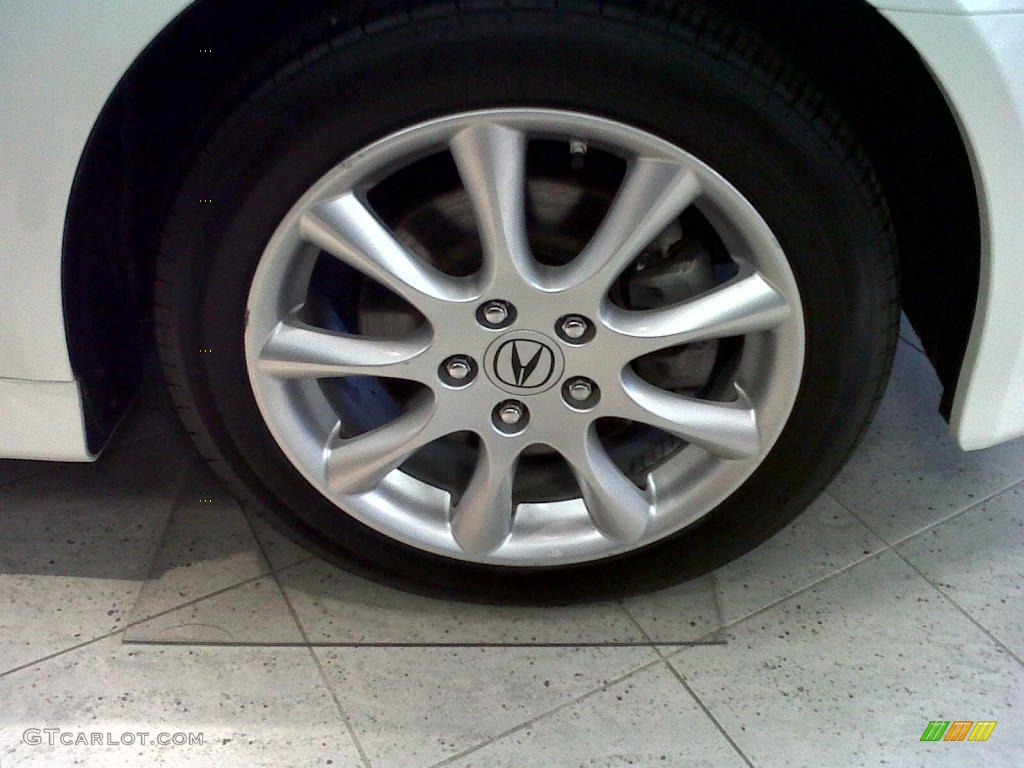 2008 TSX Sedan - Premium White Pearl / Ebony photo #20