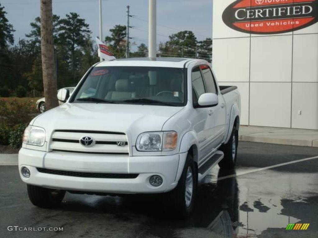 Natural White Toyota Tundra