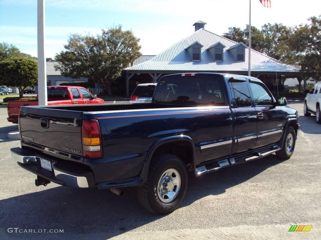 2000 indigo blue metallic chevrolet silverado 2500 ls extended cab 21882994 photo 8 gtcarlot. Black Bedroom Furniture Sets. Home Design Ideas