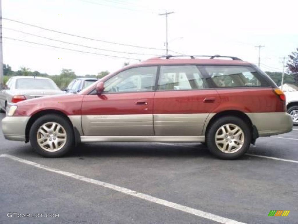 2002 regatta red pearl subaru outback limited wagon 21879199 car color galleries. Black Bedroom Furniture Sets. Home Design Ideas