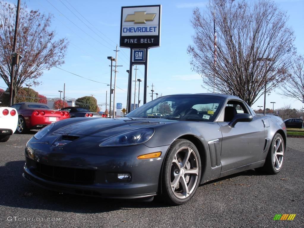 2010 cyber gray metallic chevrolet corvette grand sport coupe 21860312 car. Black Bedroom Furniture Sets. Home Design Ideas