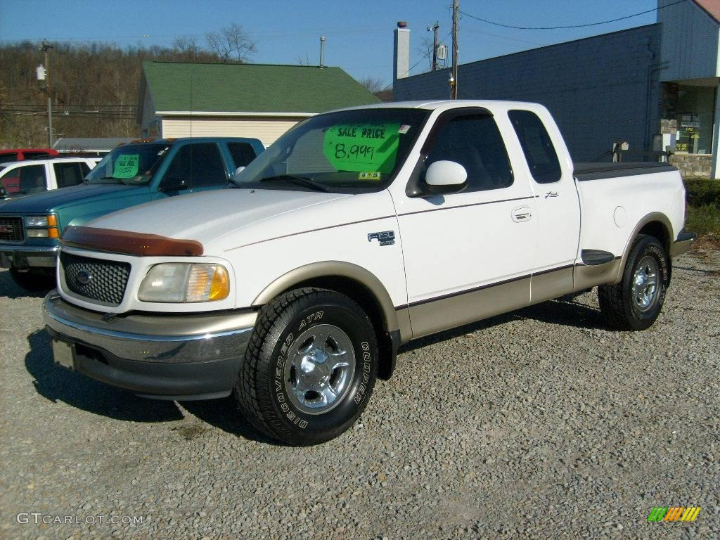 2000 oxford white ford f150 lariat extended cab 21872830 car color galleries. Black Bedroom Furniture Sets. Home Design Ideas