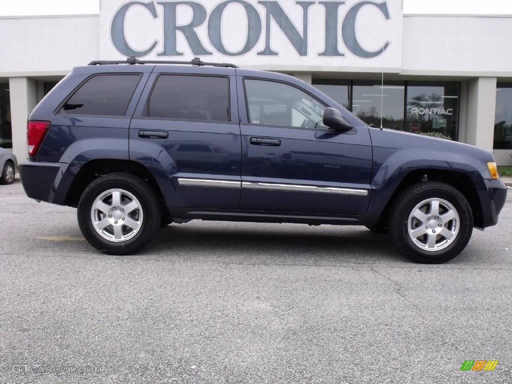 2010 modern blue pearl jeep grand cherokee laredo 4x4 #21872731