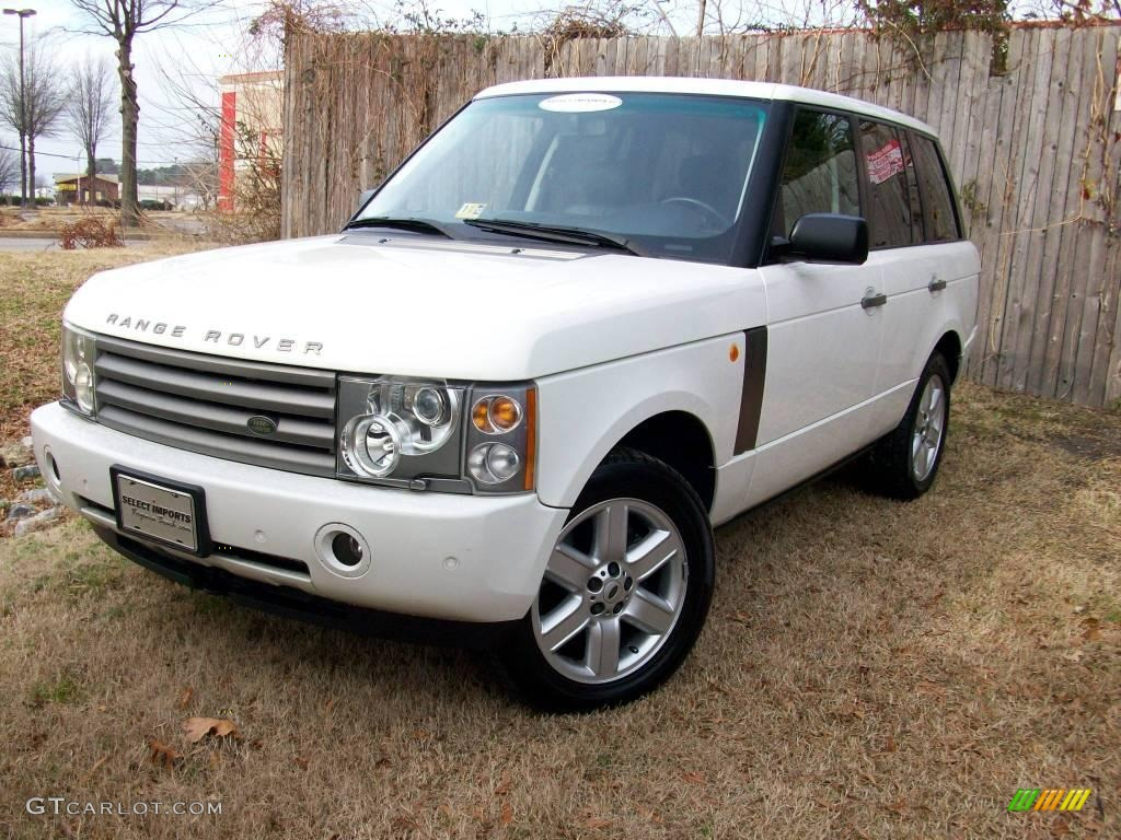 2004 chawton white land rover range rover hse 1799048 car color galleries. Black Bedroom Furniture Sets. Home Design Ideas