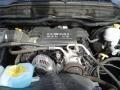 2008 Brilliant Black Crystal Pearl Dodge Ram 1500 Big Horn Edition Quad Cab 4x4  photo #12