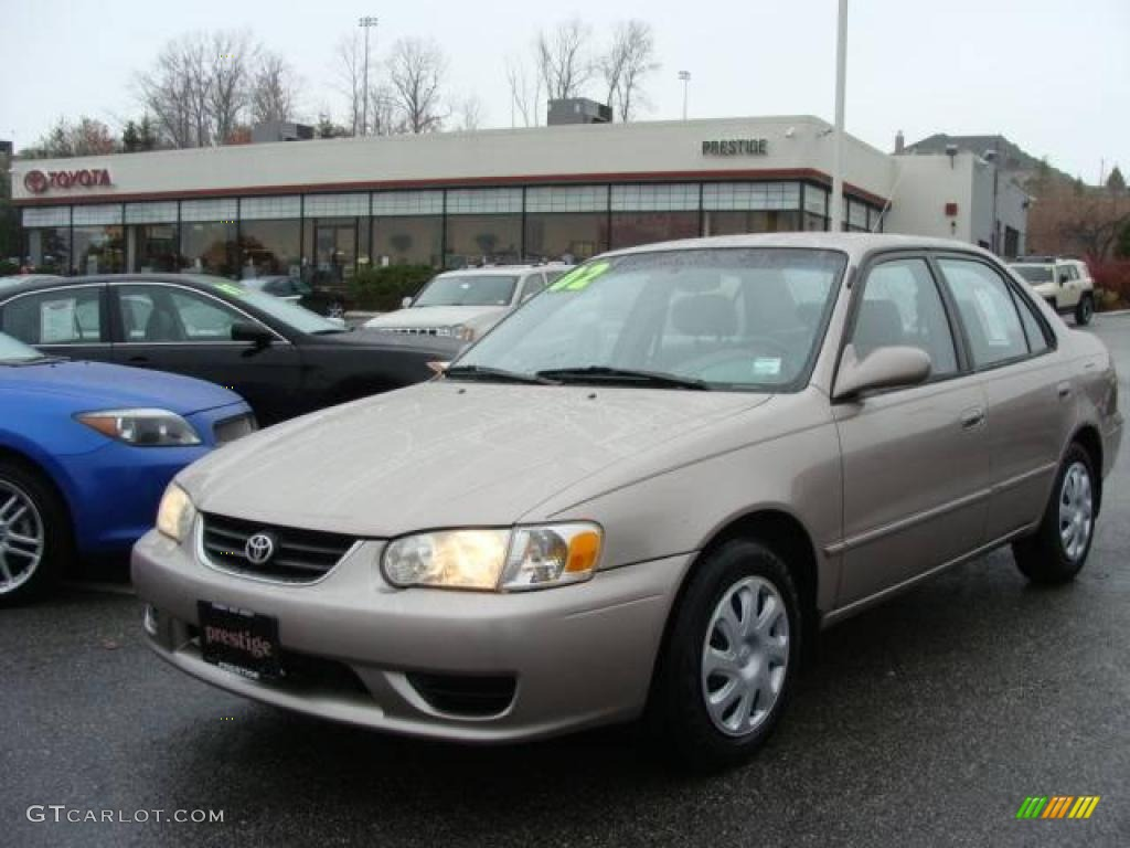 2002 Sandrift Metallic Toyota Corolla Le 21936720 Car Color Galleries