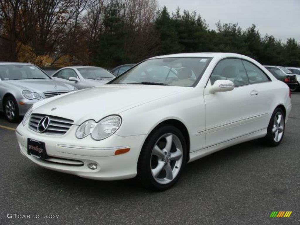 2005 alabaster white mercedes benz clk 320 coupe 21925517 car color galleries. Black Bedroom Furniture Sets. Home Design Ideas
