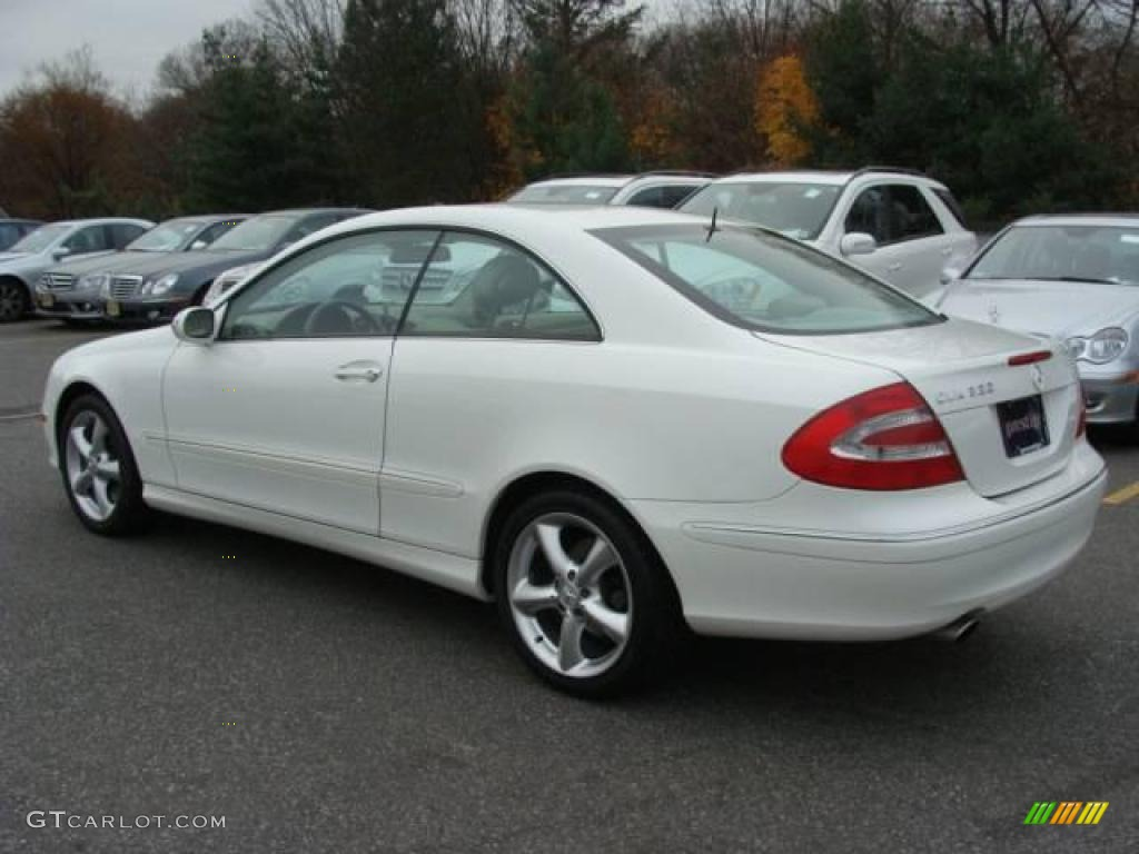 2005 alabaster white mercedes benz clk 320 coupe 21925517 photo 6 car color. Black Bedroom Furniture Sets. Home Design Ideas