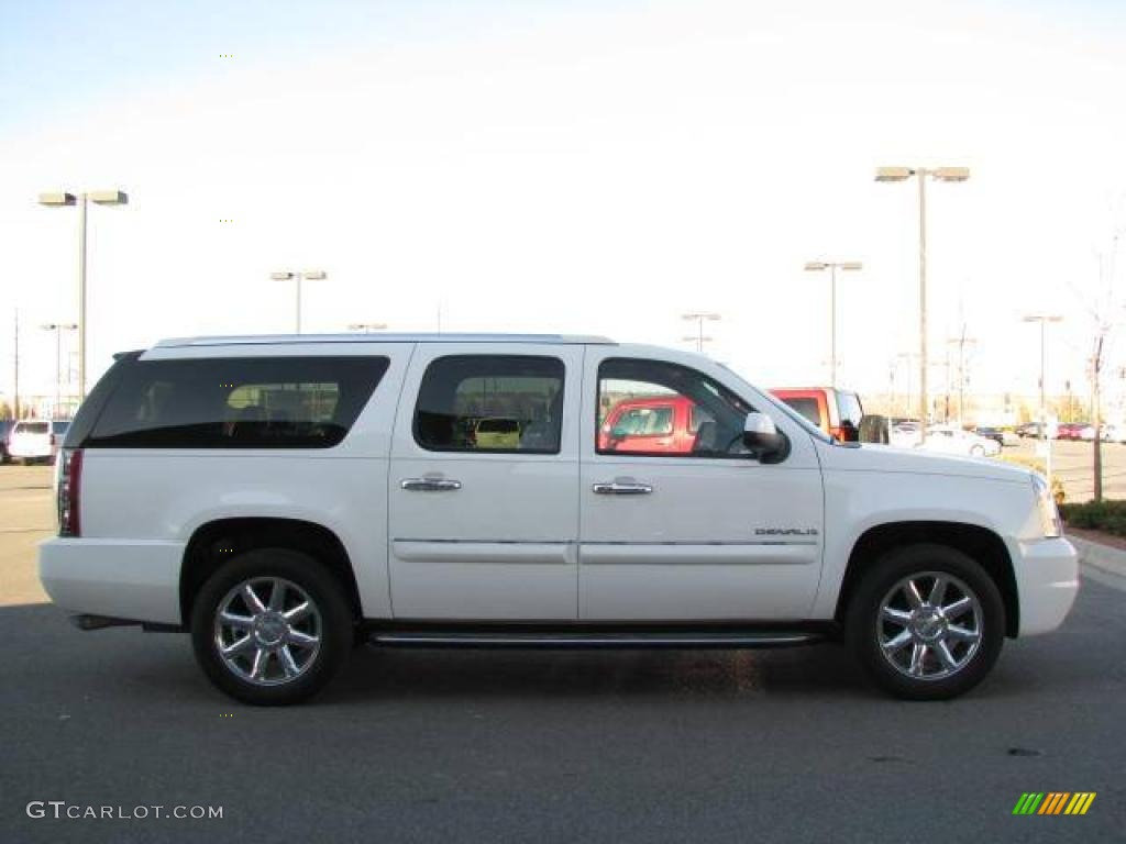 2008 summit white gmc yukon xl denali awd 21940932 photo. Black Bedroom Furniture Sets. Home Design Ideas