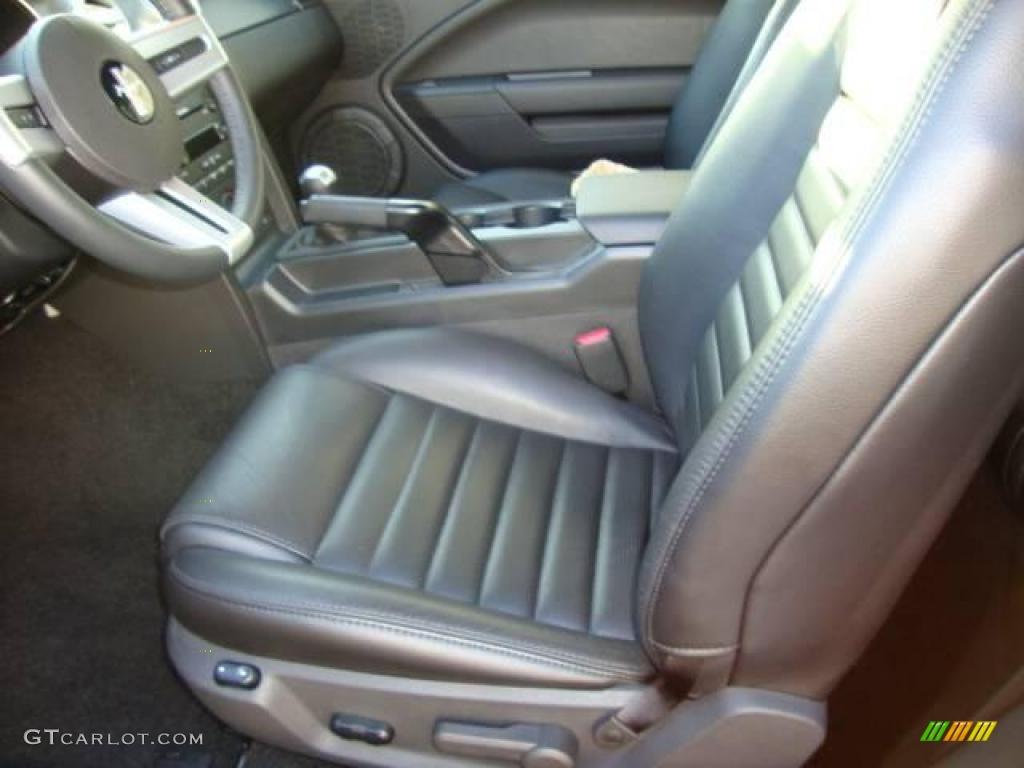 2007 Mustang GT Premium Coupe - Satin Silver Metallic / Dark Charcoal photo #10