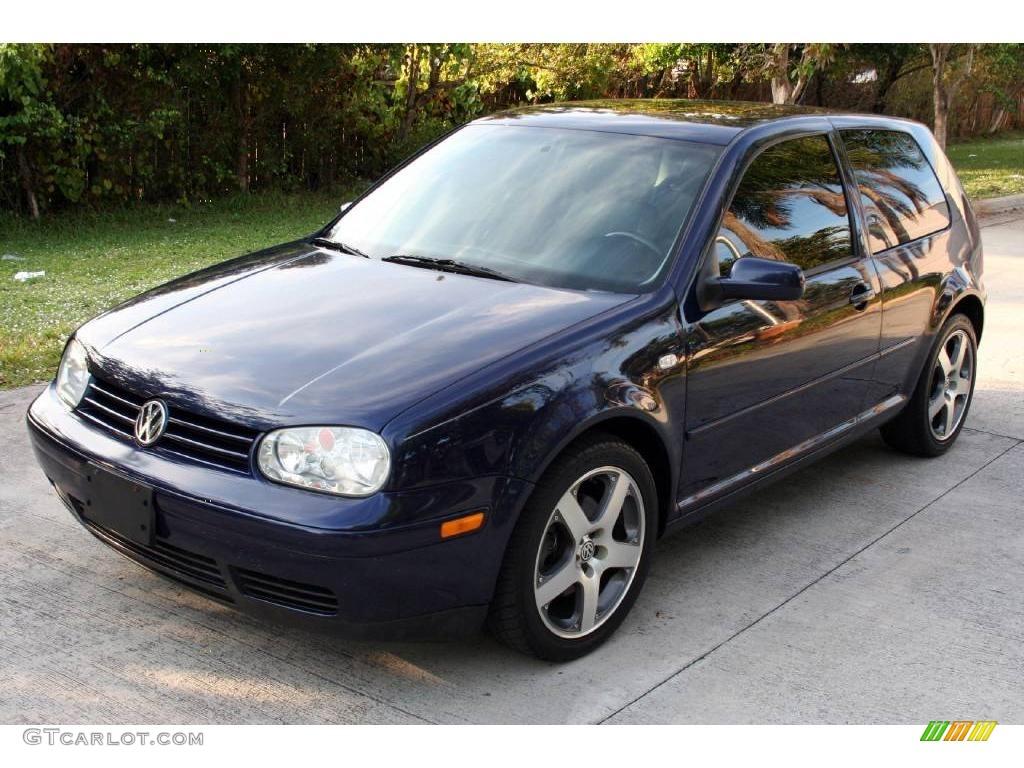 2002 Indigo Blue Metallic Volkswagen GTI VR6 #22000549