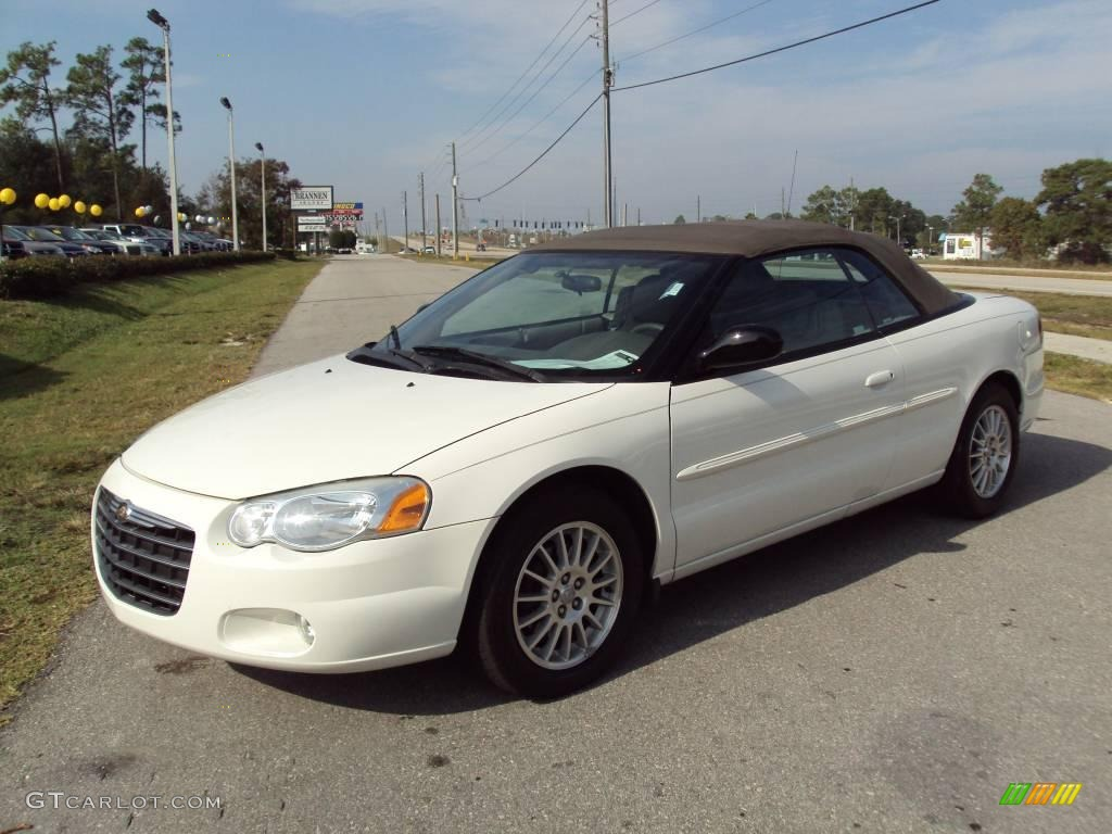 2005 stone white chrysler sebring touring convertible 22010846 car color galleries. Black Bedroom Furniture Sets. Home Design Ideas