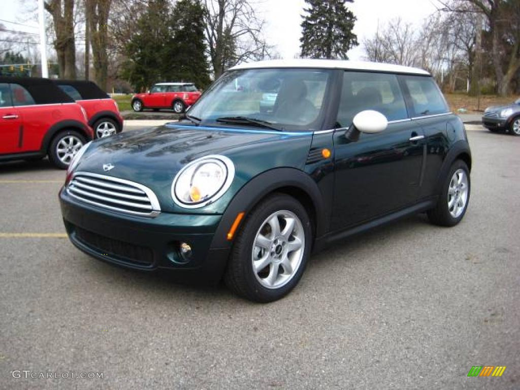 2010 British Racing Green Metallic Mini Cooper Hardtop ...