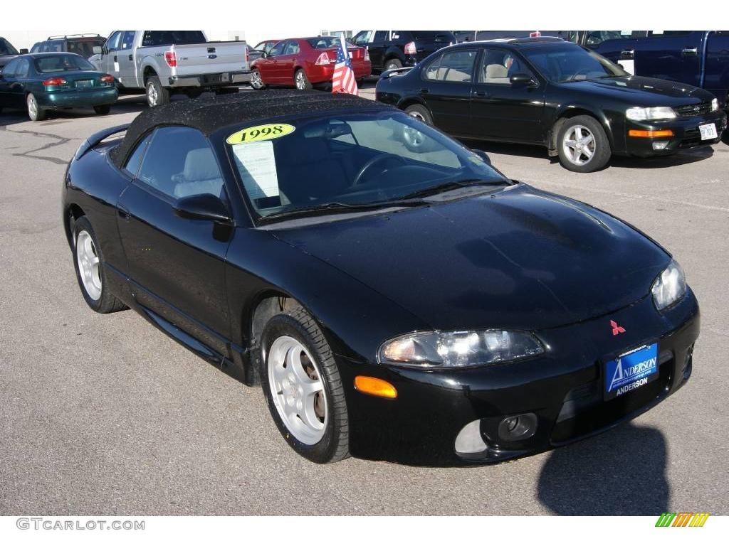1998 kalapana black mitsubishi eclipse spyder gs 22007376 car color galleries. Black Bedroom Furniture Sets. Home Design Ideas
